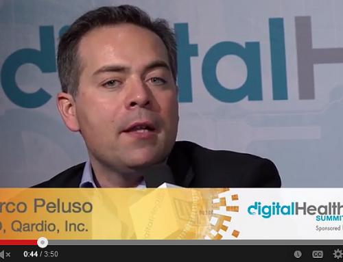 Marco Peluso, CEO, Qardio at Digital Health Summit CES 2014 hosted by Tim Reha