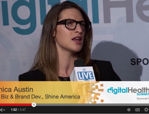 Monica Austin, SVP, Business & Brand Dev., Shine America w/ Tim Reha, Digital Health Summit CES 2014