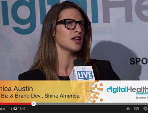 Monica Austin, SVP, Business & Brand Dev., Shine America w/ Tim Reha, Digital Health Summit CES 2014
