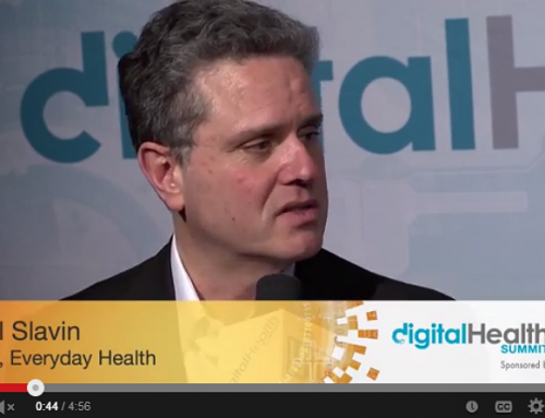 Paul S. Slavin, COO, EveryDayHealth, Digital Health Summit CES 2014 hosted by Tim Reha