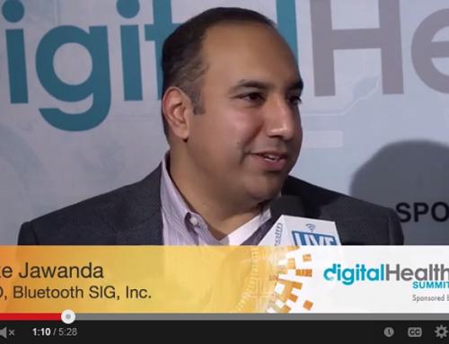 Suke Jawanda, CMO, BlueTooth w/ Tim Reha Digital Health LIVE – Sponsored by Ideal Life at CES 2014