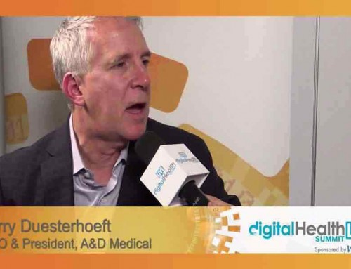 Terry Duesterhoeft, CEO & President, A&D Medical at DigitalHealthLIVE @ CES